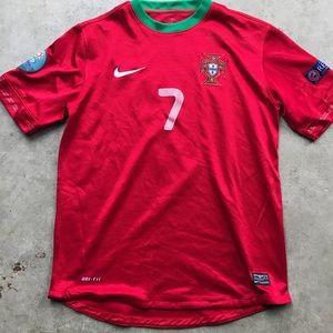 Nike Ronaldo men's soccer jersey Portugal